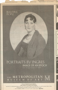 Portraits By Ingres NYT 1999P